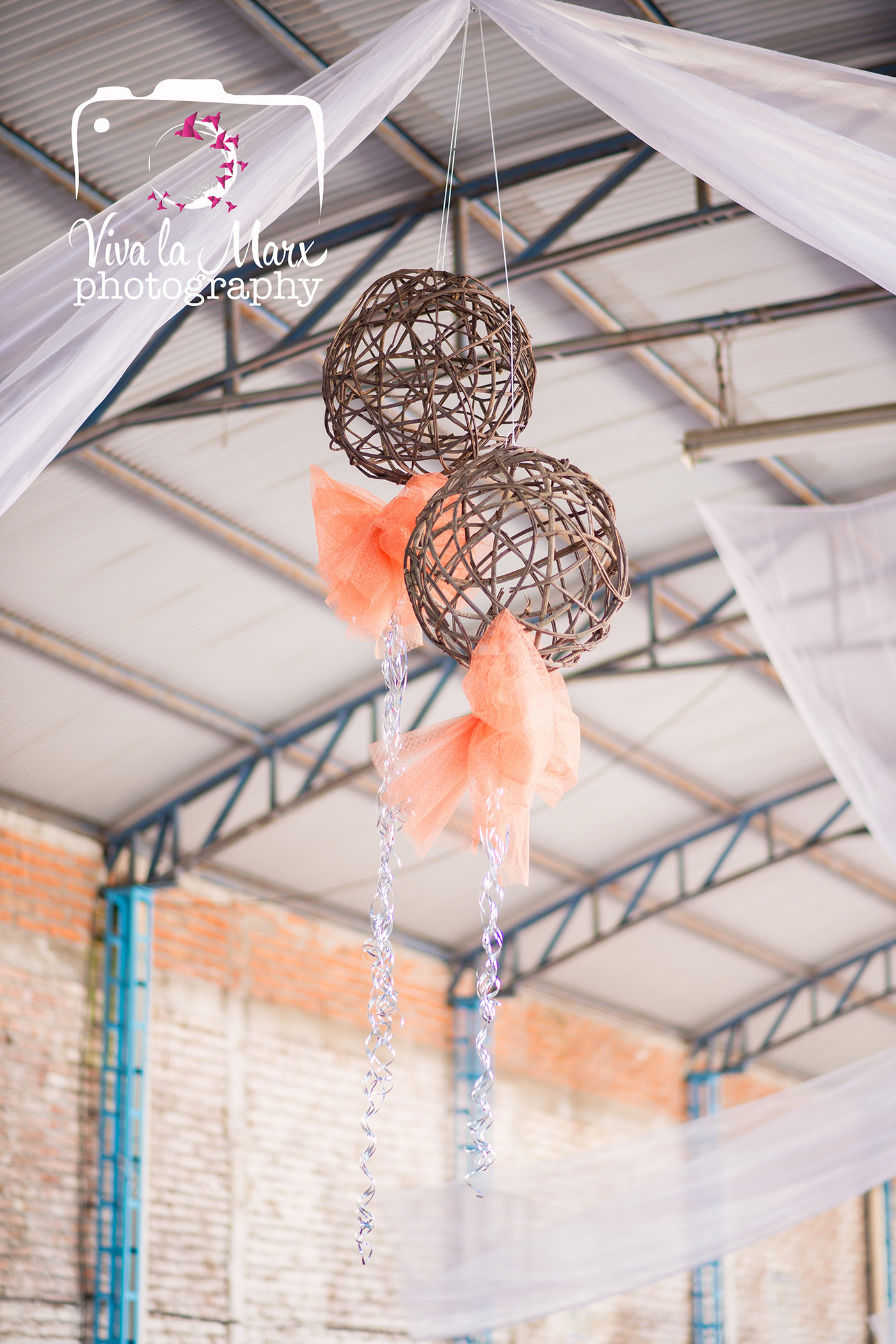 Lovely details from the reception hall, the colors soft and inviting, definitely romantic!