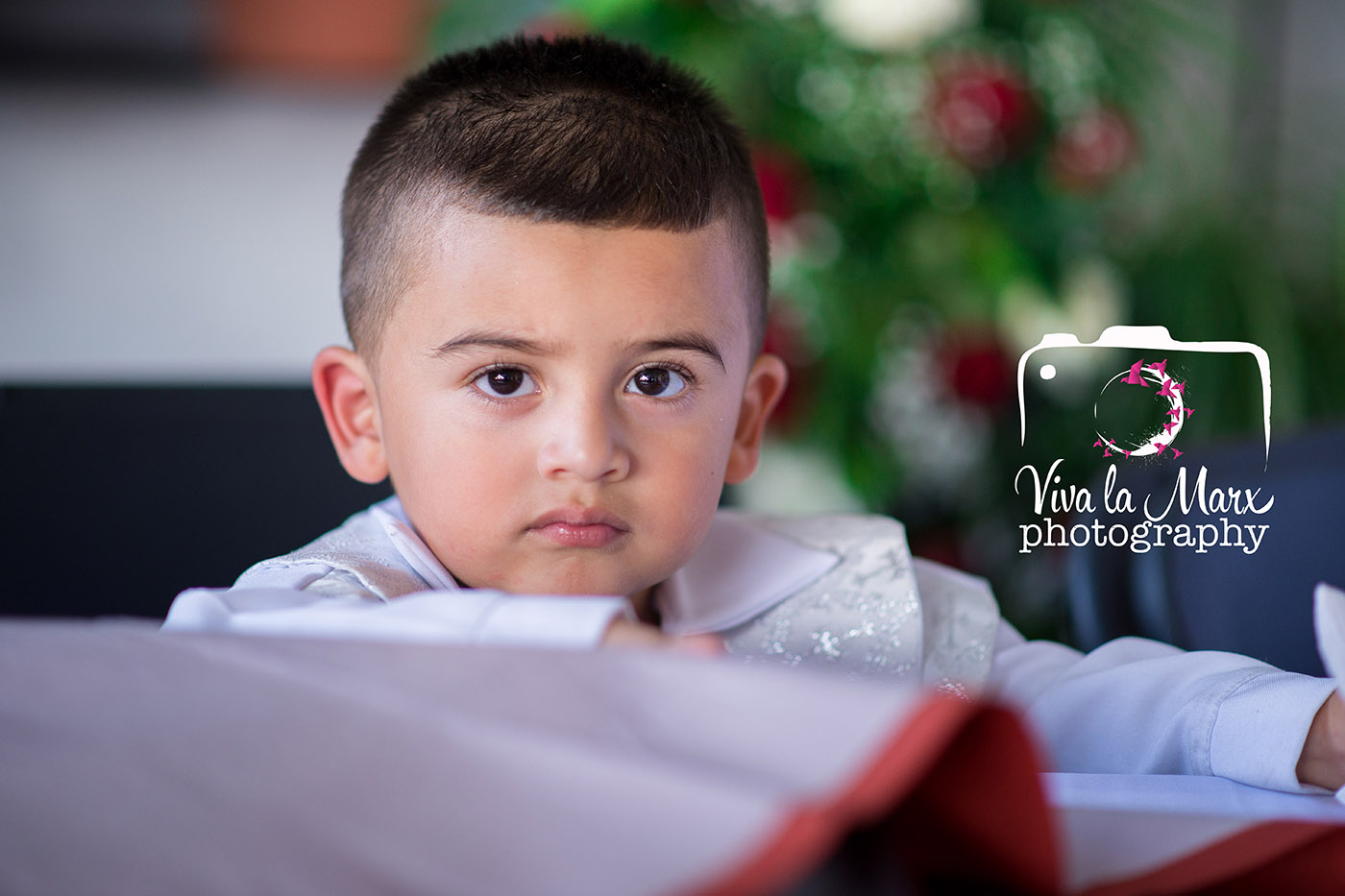 Armando, also witnessing his parents get married. He got to be baptized that same day, as well.