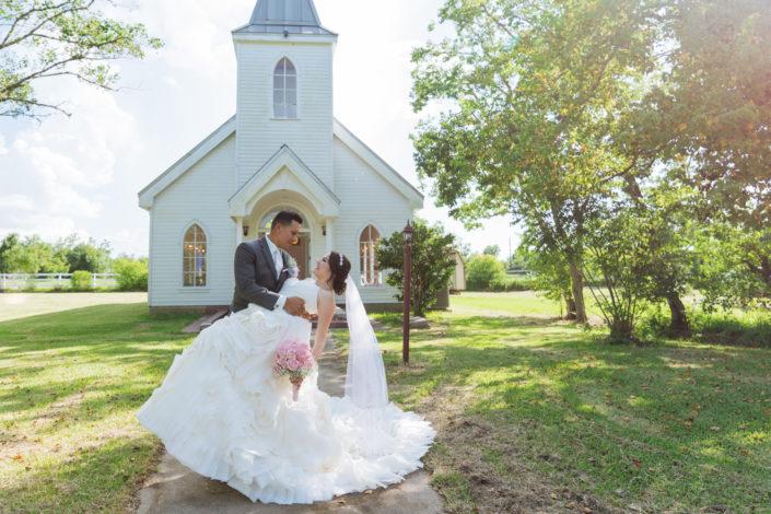Vintage Wedding in Rosharon, Texas