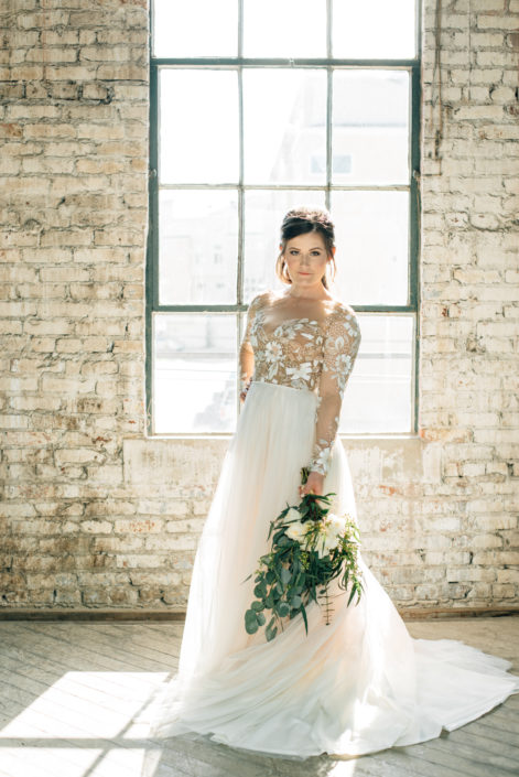 Bridals at the Houston Rental Studio