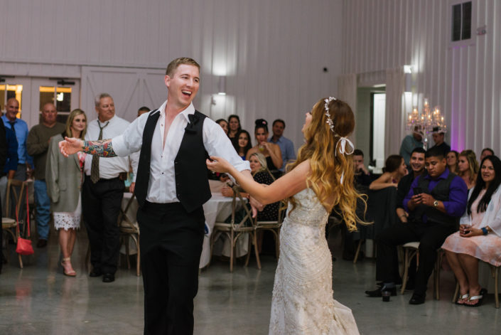 Wedding dancing and in love in Houston