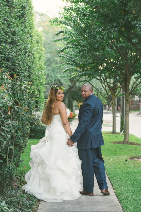 The Black Labrador Wedding in Houston