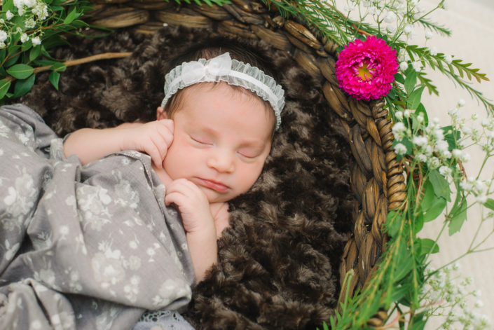Bohemian Newborn Photography