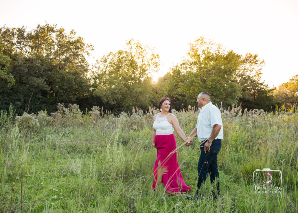 Autumn Engagement Session in Houston