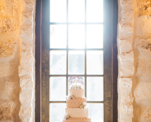 Wedding Cake in The Springs Event Venue in Angleton, Texas