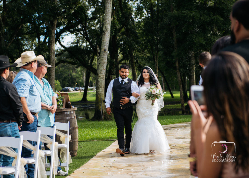 Rain or Shine Wedding at The Springs Events Venue Angleton