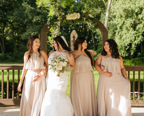 Bridesmaids candid photography Houston Wedding