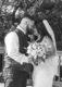 Bride and groom romantic photos
