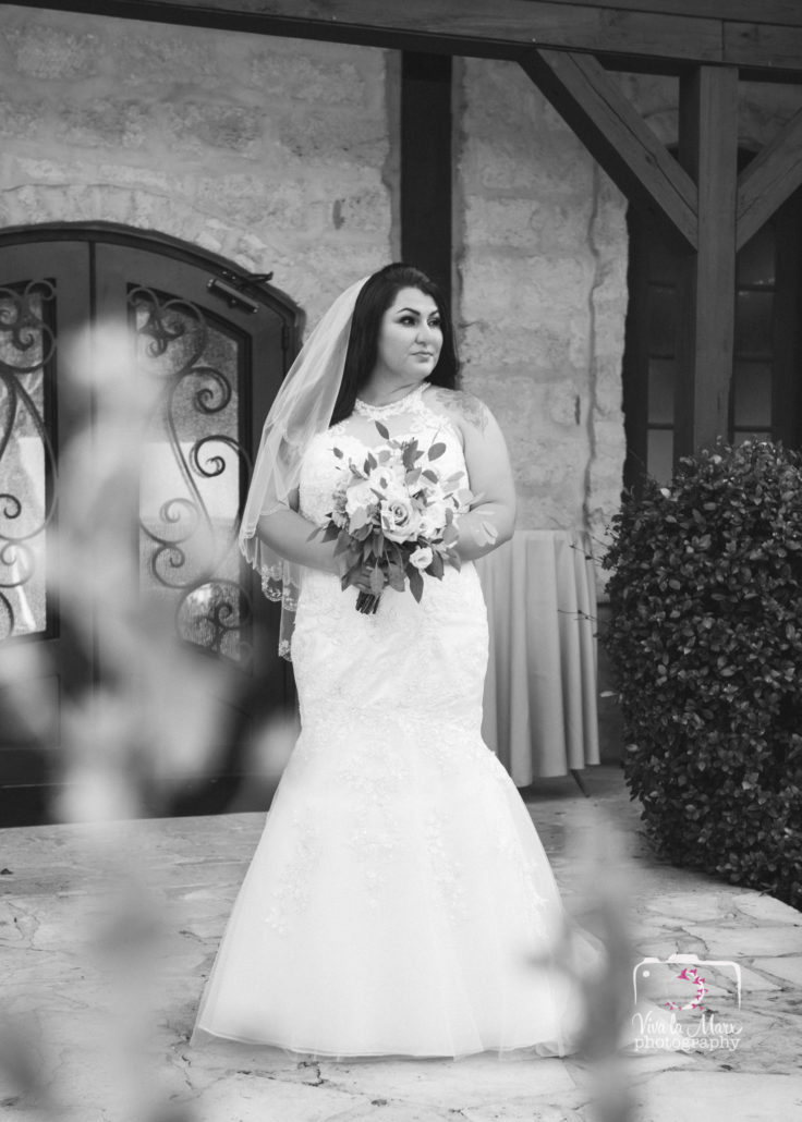 Bridal portraits at Houston Wedding