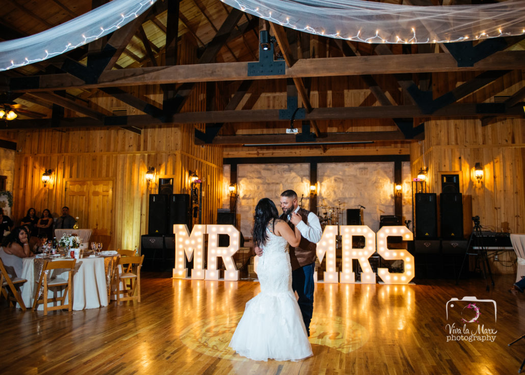 First Dance at The Springs Wedding Venue