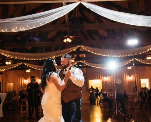 First dance at The Springs Event Venue in Angleton, Texas