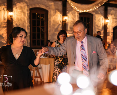 Creative Dance floor photography at The Springs Event Venue in Angleton