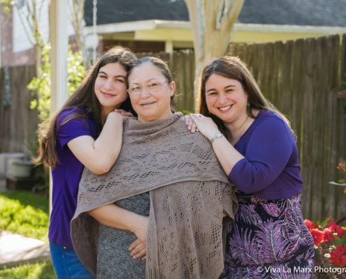 Grandparent family session in Sugar Land, Texas
