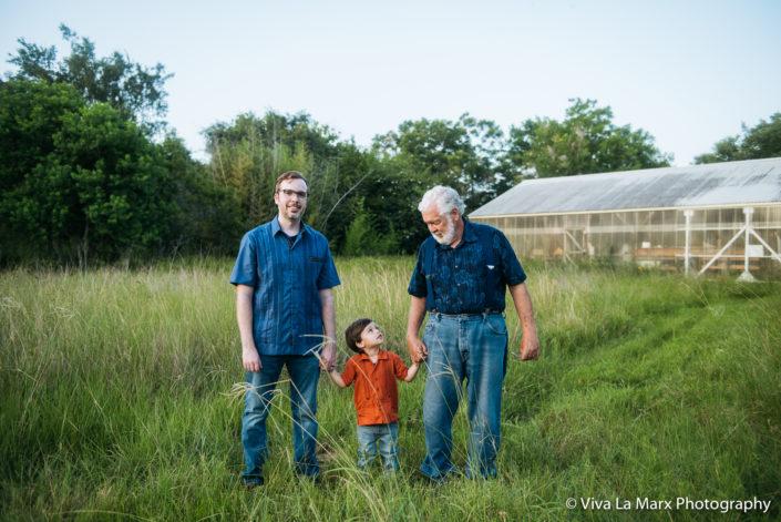Grandparent family session in Manvel, Texas