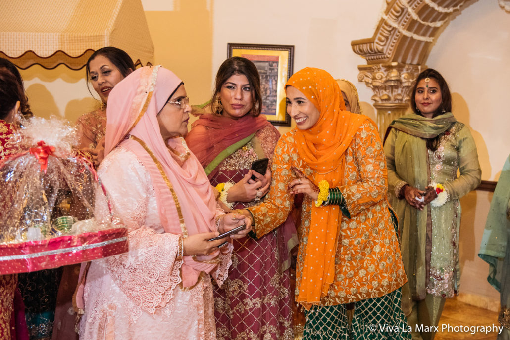 Awaiting for the bride at a Houston Pakistani Wedding