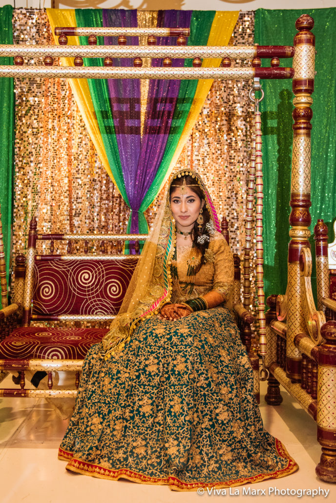 Bride at Houston Pakistani Wedding