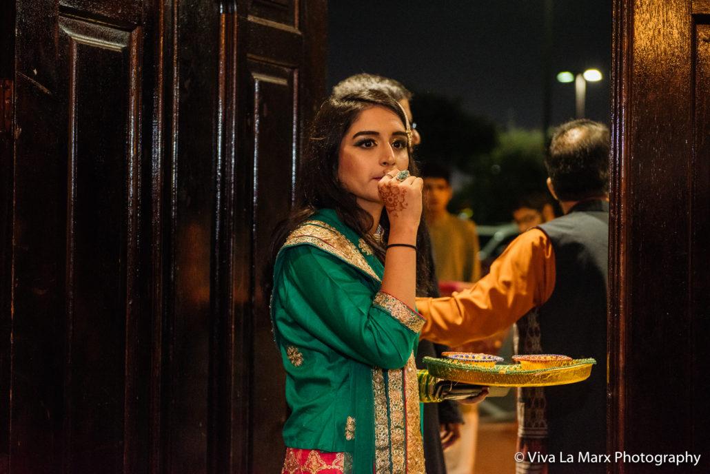 Houston Pakistani Wedding Waiting for the Groom