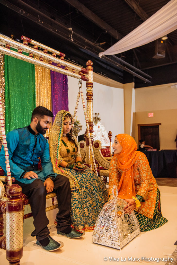 Mother of the bride at Pakistani Wedding
