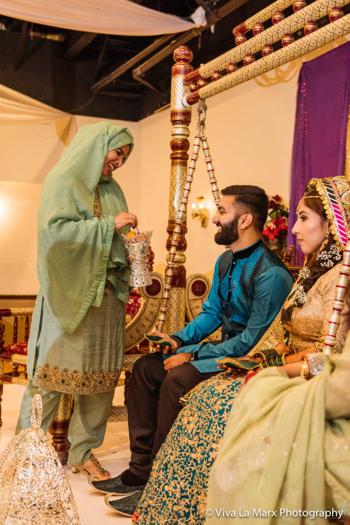 Feeding the Groom at Pakistani Wedding in Houston