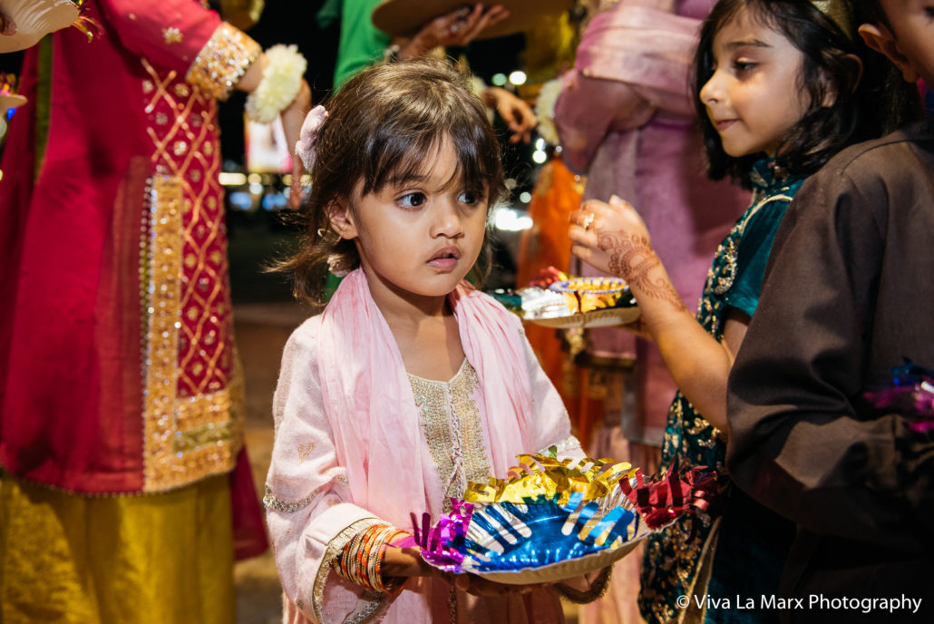 Little ones at a Houston Pakistani Wedding