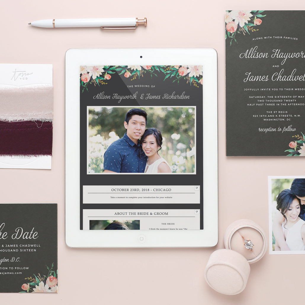 Wedding Invitation Website