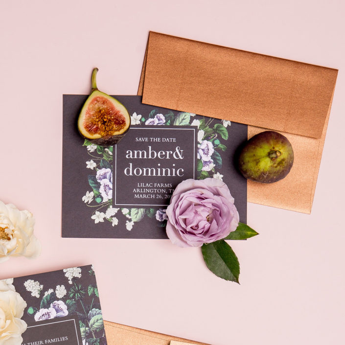 Simple Wedding Invitations by Basic Invite