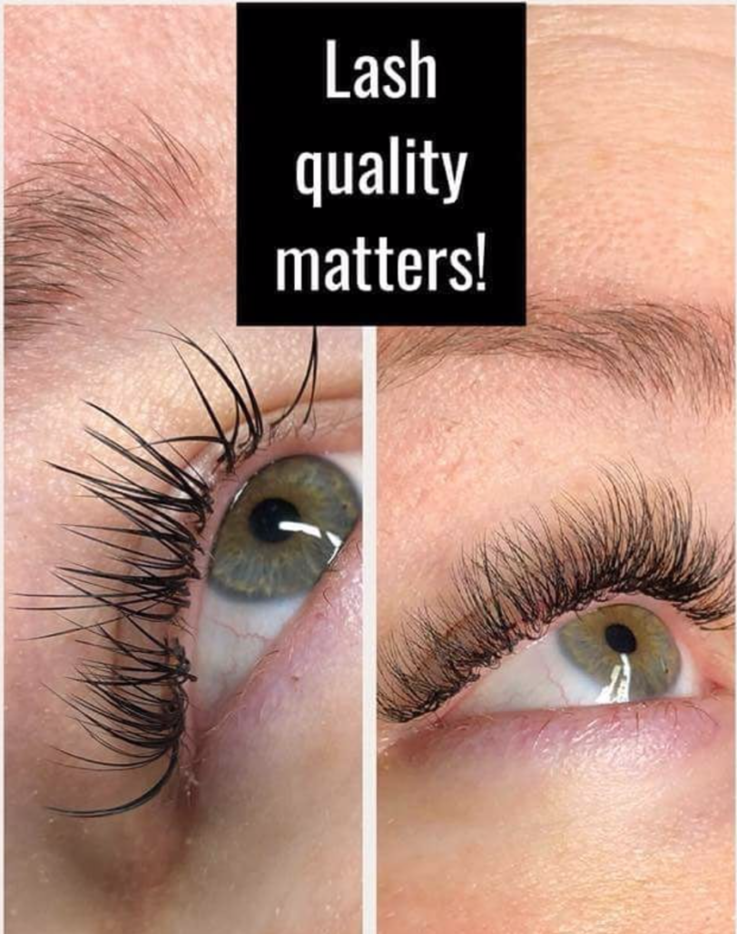 Are lash extensions safe - quality matters